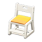 Study Chair (White - Yellow) NH Icon.png