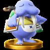 Wendell SSB4 Trophy (Wii U).png
