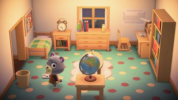 Interior of Olive's house in Animal Crossing: New Horizons