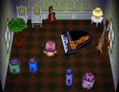 Tiara's house interior