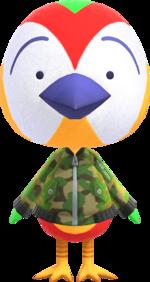 Artwork of Jacob the Bird