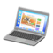 Laptop (Silver - Web Browsing) NH Icon.png