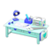 Cute DIY Table (Sky Blue) NH Icon.png