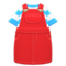 Overall Dress (Red) NH Icon.png