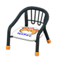 Baby Chair (Black - Bear) NH Icon.png