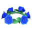 Blue Rose Crown
