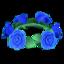 Blue Rose Crown