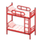 Bunk Bed (Red - Checkered) NH Icon.png