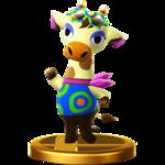 Gracie SSB4 Trophy (Wii U).png