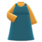 Sweetheart Dress (Peacock Blue) NH Icon.png