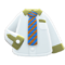 Work Shirt (Blue-Striped Necktie) NH Icon.png