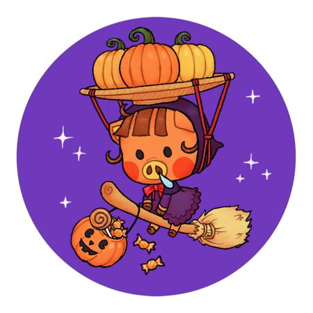 Halloween Daisy Mae by calypsotyreen