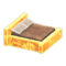 Frozen Bed (Ice Yellow - Brown) NH Icon.png