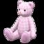 Giant Teddy Bear (Checkered - None)