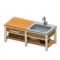 Ironwood Kitchenette (Oak) NH Icon.png