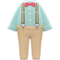 Suspender Outfit (Light Green) NH Icon.png