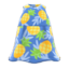 Tropical Muumuu (Blue) NH Icon.png
