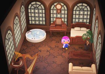 Interior of Miranda's house in Animal Crossing: New Horizons