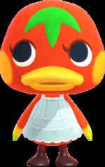 Ketchup, an Animal Crossing villager.