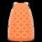 Oversized Print Dress (Orange) NH Icon.png