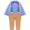 Suspender Outfit (Blue) NH Icon.png