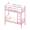 Bunk Bed (Pink - White) NH Icon.png