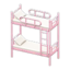 Bunk Bed (Pink - White)