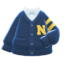 College Cardigan (Navy Blue) NH Icon.png