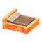 Frozen Bed (Ice Orange - Brown) NH Icon.png