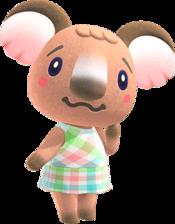 Melba, an Animal Crossing villager.
