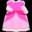 Princess Dress (Pink) NH Icon.png