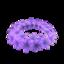 Purple Hyacinth Crown