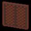 Brown Lattice Wall