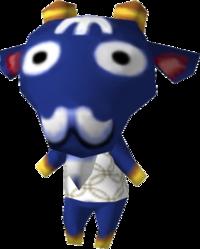 Iggy, an Animal Crossing villager.
