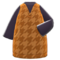 Plover Dress (Brown) NH Icon.png