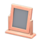 Wooden Table Mirror (Pink Wood) NH Icon.png