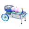 Cotton-Candy Stall (Blue) NH Icon.png