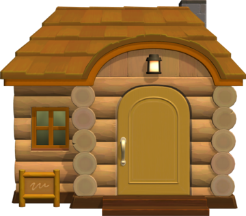 Exterior of Beau's house in Animal Crossing: New Horizons