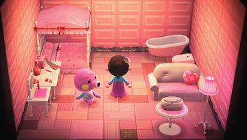 Interior of Marina's house in Animal Crossing: New Horizons