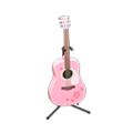 Acoustic Guitar (Pink) NH Icon.png