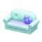 Cute Sofa (Sky Blue) NH Icon.png