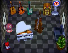 Gruff's house interior