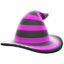 Mage's Striped Hat (Purple) NH Icon.png