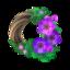 Chic Windflower Wreath