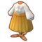 Gold Button-Waist Dress PC Icon.png
