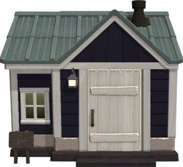 Exterior of Tom's house in Animal Crossing: New Horizons