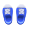 Rubber-Toe Sneakers (Blue) NH Icon.png