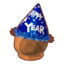Blue New Year's Hat PC Icon.png