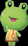 Sunny, an Animal Crossing villager.