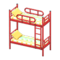 Bunk Bed (Red - Colorful Lines) NH Icon.png